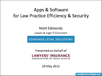Apps & Software for Law Practice Efficiency & Security